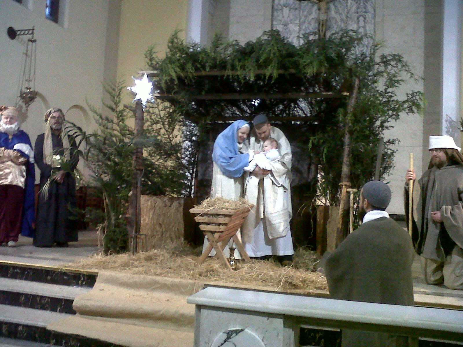 Live Nativity at Corpus Christi