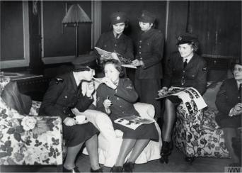Wartime Image of Grail Women (The Women of Nazareth)