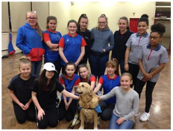 Guides and Guide Dog Millie