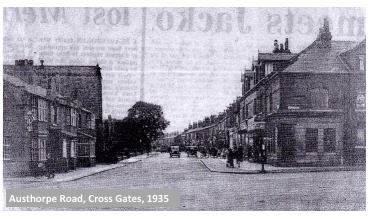Austhorpe Road, Cross Gates, 1935